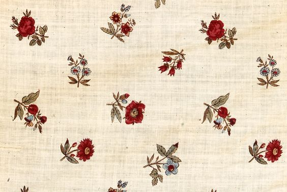 early 19th century calico