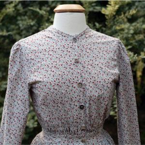 woman's long skirt cotton dress