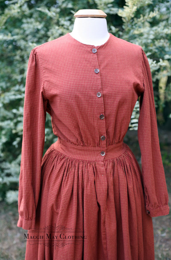 Woman's homespun dress