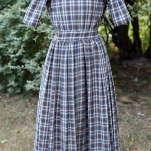 Girl's homespun dress