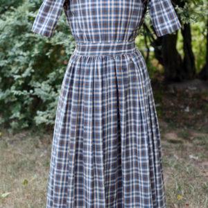 Girl's homespun dress