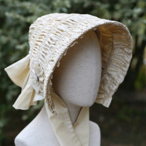 drawn bonnet
