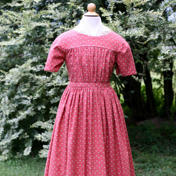Girls 1840s-1850s-1860s dress
