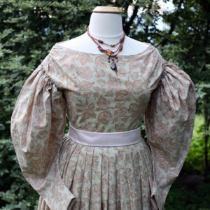 Romantic era dress