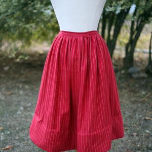 red flannel petticoat