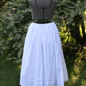 Extra full petticoat