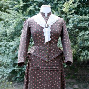 harvest bustle gown