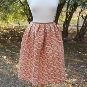Quilted cotton petticoat