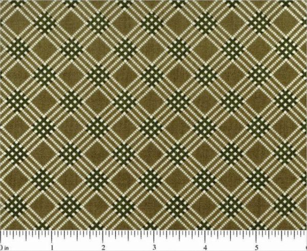 Reproduction print cotton fabric