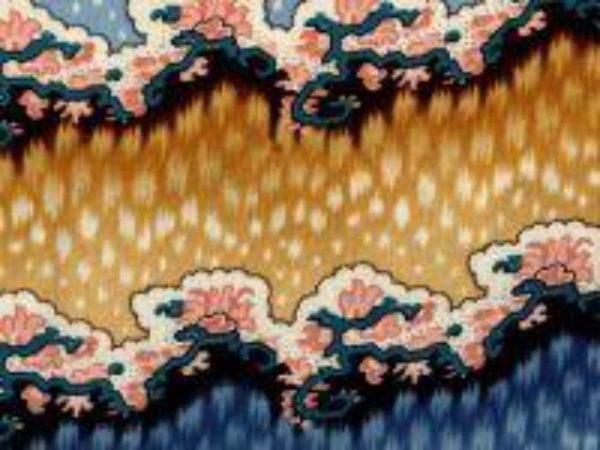 Merchant's Wife Civil War Era print fabric