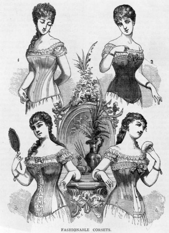 Cuirass corset