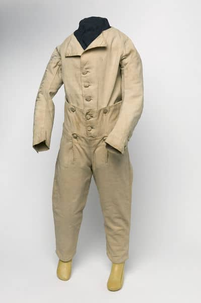 Boy's skeleton suit