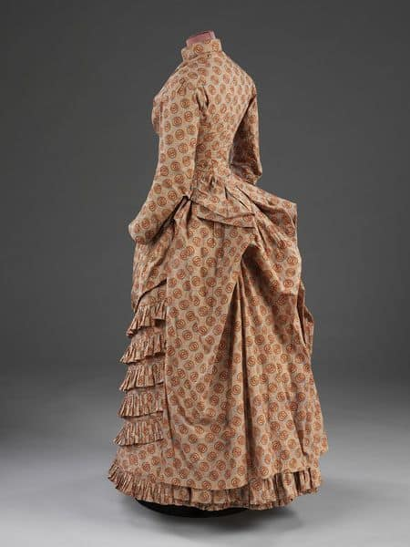 1880s Bustle gown