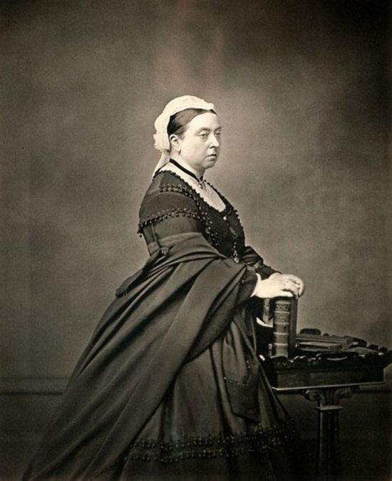 Queen Victoria in mourning