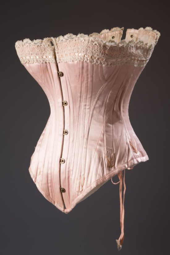 mid 1880s corset