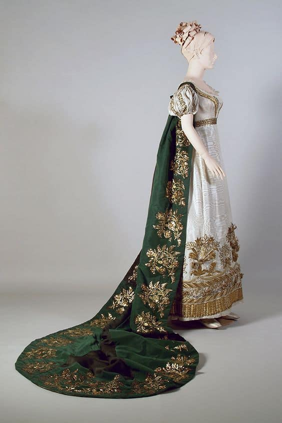 French court gown