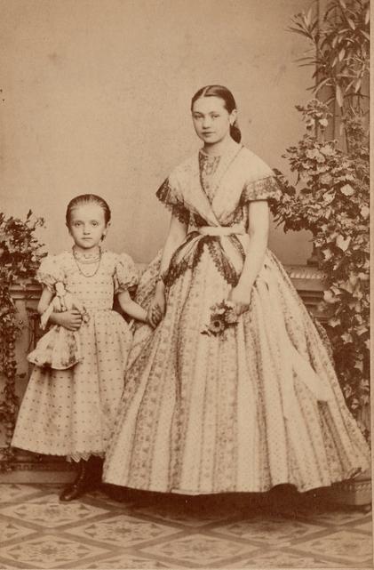 1860s girls