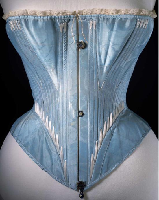 Whalebone Corset c. 1864