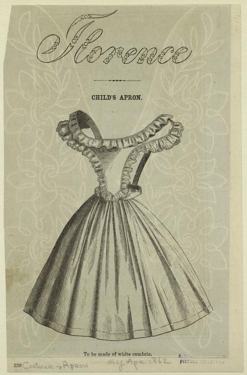 1860s pinafore