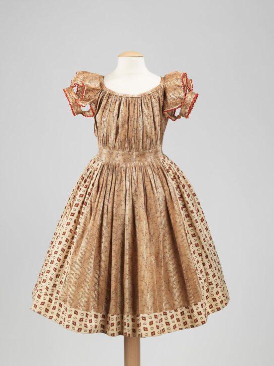 1860s girls dress