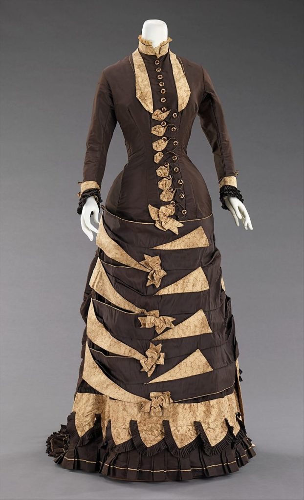 Cuirass bodice gown