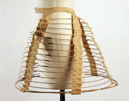 Early cage crinoline