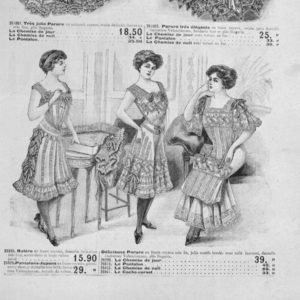 Edwardian Camisole advert