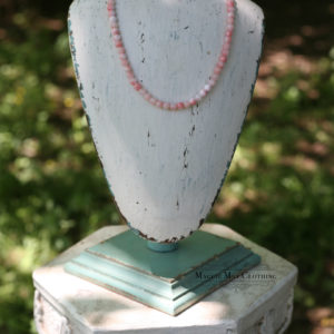 Blushing Bride Jade necklace