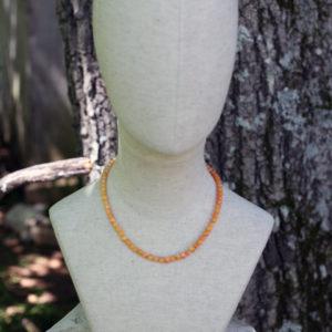 19th century stone necklace