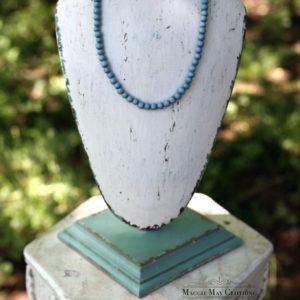 Saxony Blue necklace