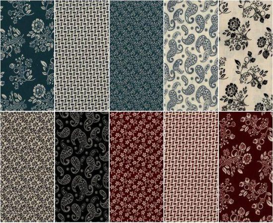 reproduction cotton print fabrics
